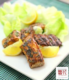 Curry Leaves Grilled Salmon
