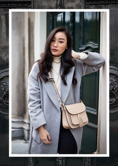 3 WAYS TO STYLE YOUR GREY COAT | TLNIQUE