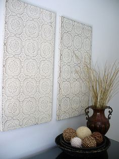 Fabric Wall Decor