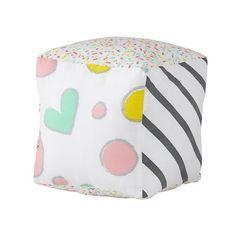 Sugar Cube Plush with patterns a plenty!