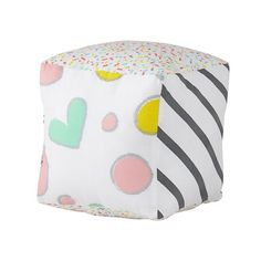 Sugar Cube Plush - perfect piece to give to new babies and as 1st birthday gifts.
