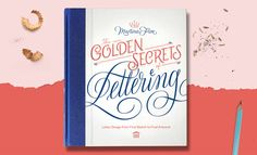 "Thrilled to announce the official release of my book ""The Golden Secrets Of Lettering"". You can now find it in stores in the USA and you can order it online on Princeton Architectural Press website http://www.papress.com/html/product.details.dna?isbn=9781616895730"
