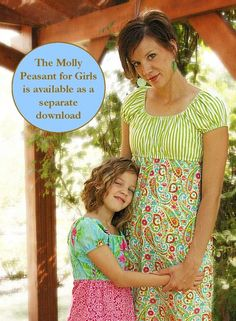 Sis Boom Meghan Peasant with Scientific Seamstress Pattern and Instructions, PDF E-Book. $9.95, via Etsy.