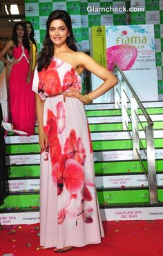 Deepika Padukone Delights in Pink Maxi Dress