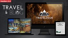 Travelogue is a unique and elegant HTML theme with modern design. It works properly on all browsers and devices. Each page has a specific transition effect that gives this theme a unique feeling. Html Website Templates, Cultural Capital, Brand Fonts, Video Background, Photographer Portfolio, Dream City, Travelogue, Wordpress Theme, Traveling By Yourself