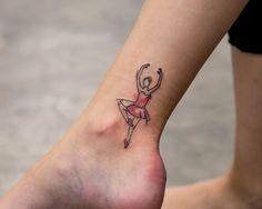 tattoo and bailarina image