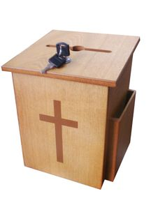 Church Collection Fundraising Box Suggestion Box Donnation Charity Box 885