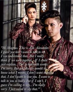 Malec... can we just not..this pains me to this day