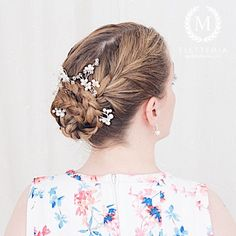 Photo by M i a French Braid Updo, Braided Updo, Updos, Braids, Photo And Video, Hair Styles, Party, Om, Instagram