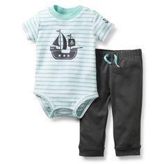 2-Piece Bodysuit and Pant Set