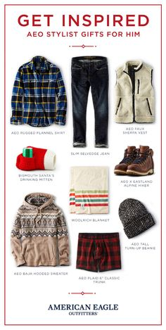 Our stylist put together a guide with some of her favorite #AEOSTYLE gifts this season.