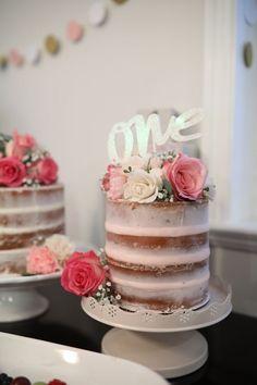 Flower theme first birthday party Girls Birthday Party Themes Baby Girl Birthday Cake, First Birthday Themes, 1st Birthday Cakes, 1st Birthday Girls, Birthday Celebration, First Birthdays, Birthday Ideas, Birthday Photos, 10th Birthday