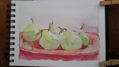 Plastic Cutting Board, Watercolor, Art, Craft Art, Watercolour, Watercolor Painting, Kunst