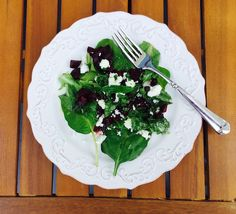 Roasted Beet Salad with Feta. Easy. Scrumptious. Good for you.