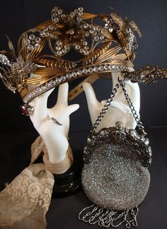 1800s French Jeweled Crown.