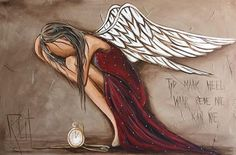Time heals where reason can not Angel Artwork, Angel Drawing, I Believe In Angels, Angel Pictures, Angels Among Us, Mystique, Whimsical Art, Medium Art, Mixed Media Art