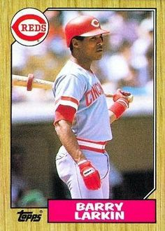1987 Topps #648 Barry Larkin RC - Cincinnati Reds (RC - Rookie Card) (Baseball Cards) by Topps. $0.01. 1987 Topps #648 - Barry Larkin RC (Rookie Card)