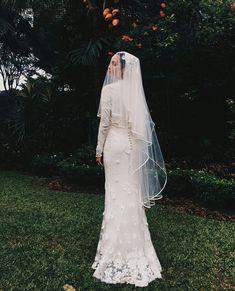 in Kuala Lumpur Muslimah Wedding Dress, Muslim Wedding Dresses, Dream Wedding Dresses, Wedding Attire, Wedding Gowns, Dress Muslimah, Malay Wedding Dress, Minimal Wedding Dress, Engagement Dresses