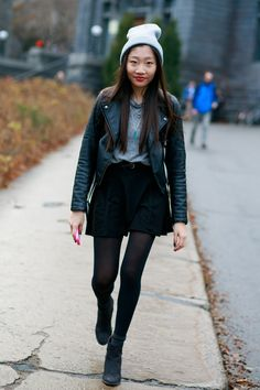 #STRTJournal |  #Montreal Downtown #StreetStyle