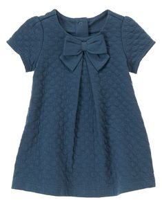 Dress Blue Navy Bows Ideas The effective pictures we give you about kids .Dress Blue Navy Bows Ideas The effective pictures we offer you about children Clothing illustration A quality picture can tell Toddler Dress, Toddler Outfits, Kids Outfits, Little Girl Fashion, Fashion Kids, Kids Frocks, Girl Dress Patterns, Dresses Kids Girl, Baby Dresses
