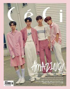 Wanna One Ceci Photoshoot Jaehwan Wanna One, Nothing Without You, Guan Lin, Ong Seongwoo, Lee Daehwi, Fans Cafe, Kim Jaehwan, Ha Sungwoon, 3 In One
