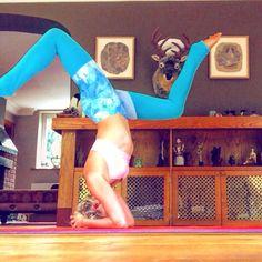 Yoga Berry practising headstand in our Luusi leggings  #sustainable #veganfashion #vegan #organic #bamboo #sustainablilityinstyle #smartgirlsgogreen #ecofriendlyfashion #outfitoftheday #ootd #fashiondiaries #fashionblogger #fashiongram #fashionlover # #springfashion #shoponline #shopping #fashionaddict #shopifypicks #shopify #ecofashion #yoga #yogawear #leggings #athleisurewear #athleisure #activewear #sportslux #sportfashion #fitfashion