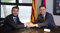 Firma de la renovación de Rafinha | FC Barcelona