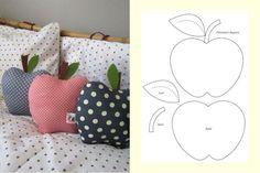 .coussins pommes