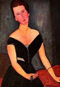 Portrait of Mrs van Muyden by Modigliani