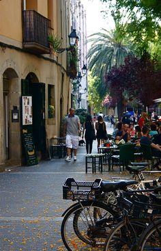 'El Born' town, Barcelona.