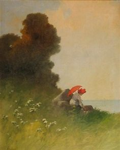 Red Deer, Paintings I Love, Winter Landscape, Magazine Art, Art Market, Oil On Canvas, Artist, Artwork, Woman