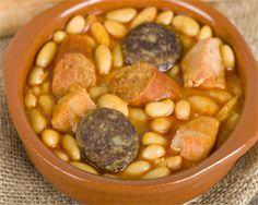 Fabada Asturiana con Oreja