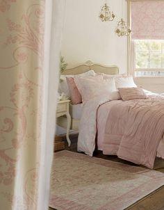 Laura Ashley Shabby Chic: little girl's room inspiration Home Bedroom, Chic Bedroom, Laura Ashley Bedroom, Dreamy Bedrooms, Bedroom Decor, Beautiful Bedrooms, Home Decor, Shabby Chic Furniture, Chic Furniture