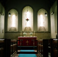 church of st. david, llanddew, wales /flickr