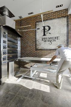 LEMAYMICHAUD | PREMIÈRE MOISSON | Québec | Architecture | Interior Design | Restaurant | Eatery | Bakery | Bread | Signage |