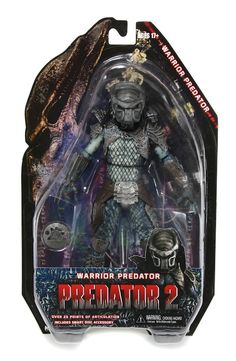 Warrior Predator in packaging