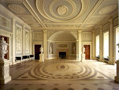 Entrance Hall - Osterly House - Middlesex  Robert Adam
