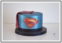 Superman Man Of Steel Cake