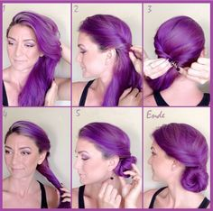 53 Best Lang Frisuren Images On Pinterest In 2018 Hair Up Dos And