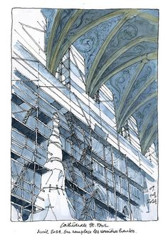 Liège, cathédrale Saint-Paul by gerard michel, via Flickr