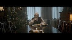 The ad begins with a little old man getting the news that his family won't make it to Christmas, so he spends the holiday ALONE.   This Depressing Christmas Ad Is Enraging Everyone