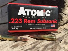 Let's Go Subsonic With Our Ammo Lingo | http://guncarrier.com/lets-go-subsonic-with-our-ammo-lingo/