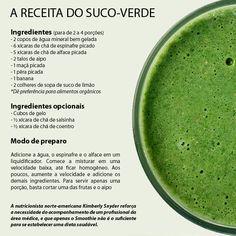 Outros benefícios que o suco-verde traz é a eliminação de olheiras, prevenção do câncer, melhoram a circulação e o funcionamento do intestino.