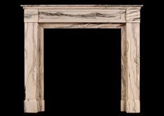 A FRENCH LOUIS XVI CIPOLINO ANTIQUE MARBLE FIREPLACE Stock No: 3852