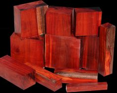 EXOTIC WOOD: BORNEO ROSEWOOD Also called Rangas, Borneo Rosewood originates from Asia. This unique species (though not a true rosewood) shares many of the same colors and working properties of the true Dalbergia Rosewoods. The wood ranges in color from warm oranges and reds to almost black streaks. The streaks are very well-defined, unlike many woods.  www.cookwoods.com