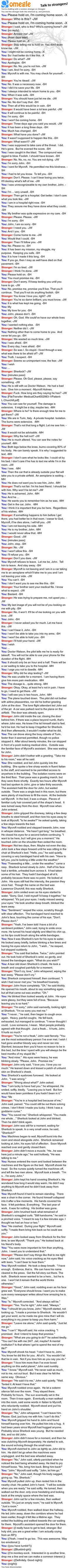 Sh dies,but this time for real...Johnlock fluff ♥ Oh my god, I am bawling like a baby. What is wrong with me? *sniffle*