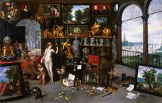 Jan Brueghel the Younger - Allegory of Sight