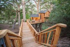 Beautiful Tree Houses, Normal House, Tiny House Talk, Outdoor Seating, Outdoor Decor, Tree House Designs, Cypress Trees, Tiny Houses For Sale, Grand Staircase