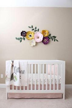 A personal favorite from my Etsy shop https://www.etsy.com/listing/530708847/paper-flowers-baby-girl-nursery-room