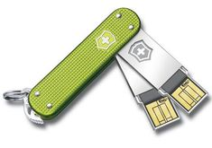 Really cool USB flash drives from Victorinox Swiss Army. Waterproof and shock-resistant. #want